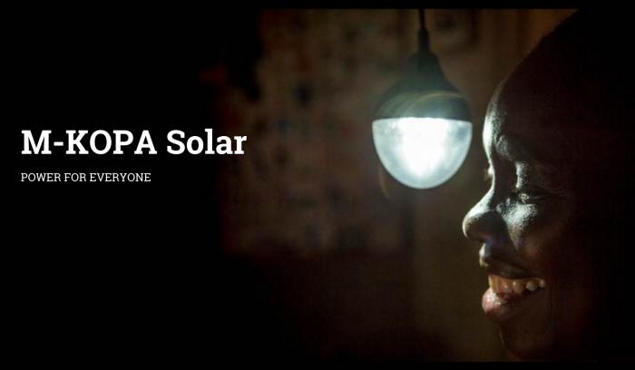 m-kopa solar  Off-grid energy provider, M-KOPA, receives $10 million from FinDev Canada Screen Shot 2015 12 06 at 21