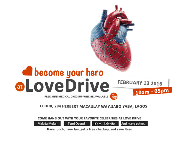 #LoveDrive - Heart