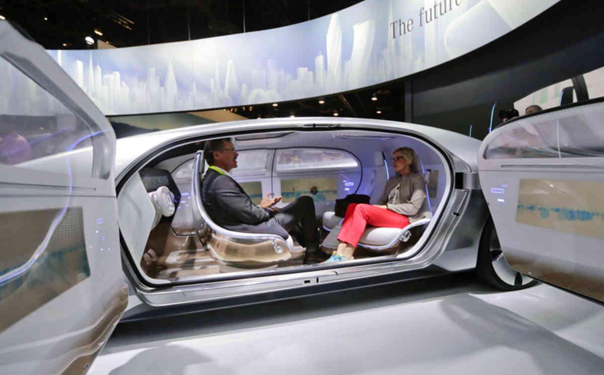 APTOPIX Gadget Show Mercedes Benz