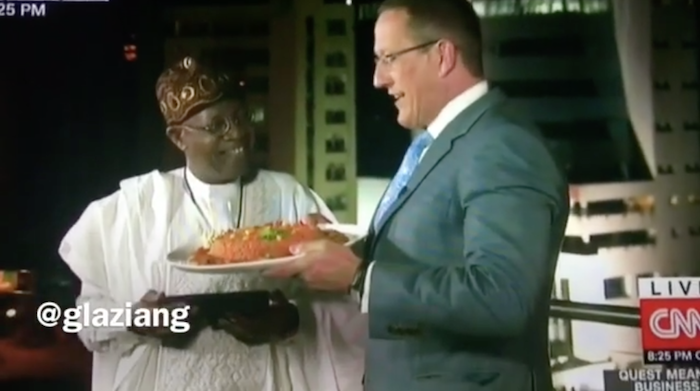 Nigerians Upset Over Information Minister's Answer To Richard Quest's Jollof Rice Question Screen Shot 2017 04 29 at 16