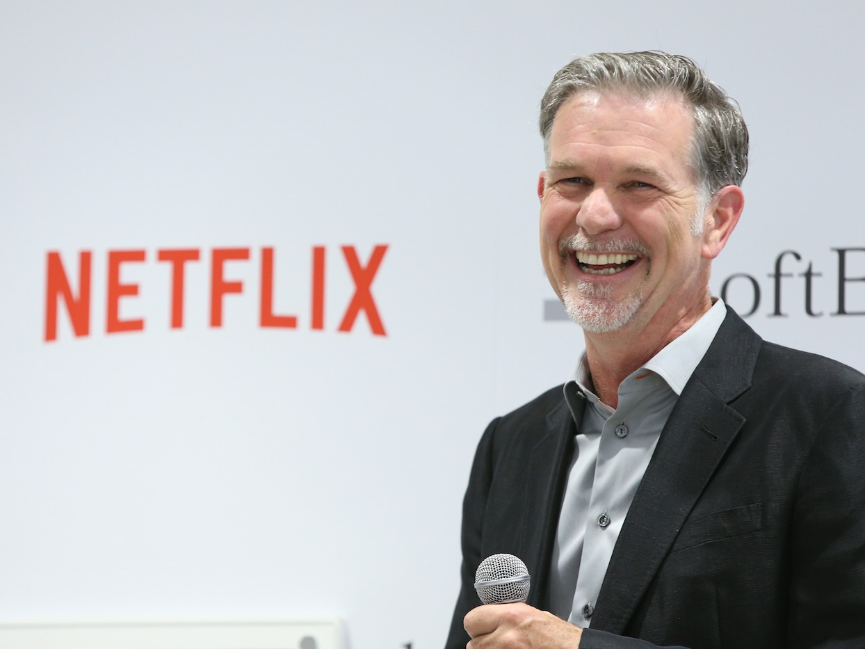 Netflix's Biggest Competitor Is 'Sleep' Not HBO or Amazon Says CEO netflix ceo reed hastings favorite netflix show is a hilarious satire you should probably be watching