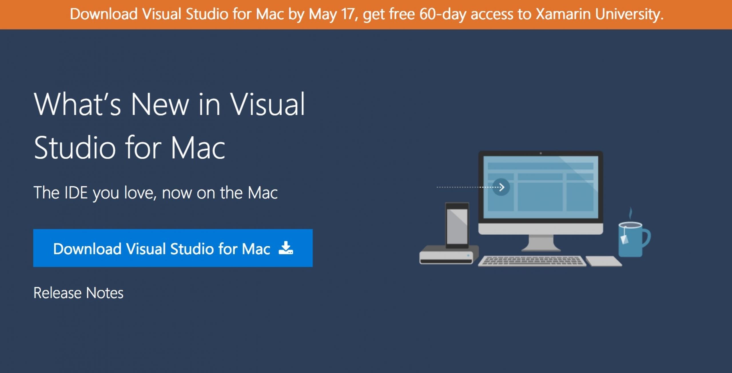 microsoft visual studio download for mac
