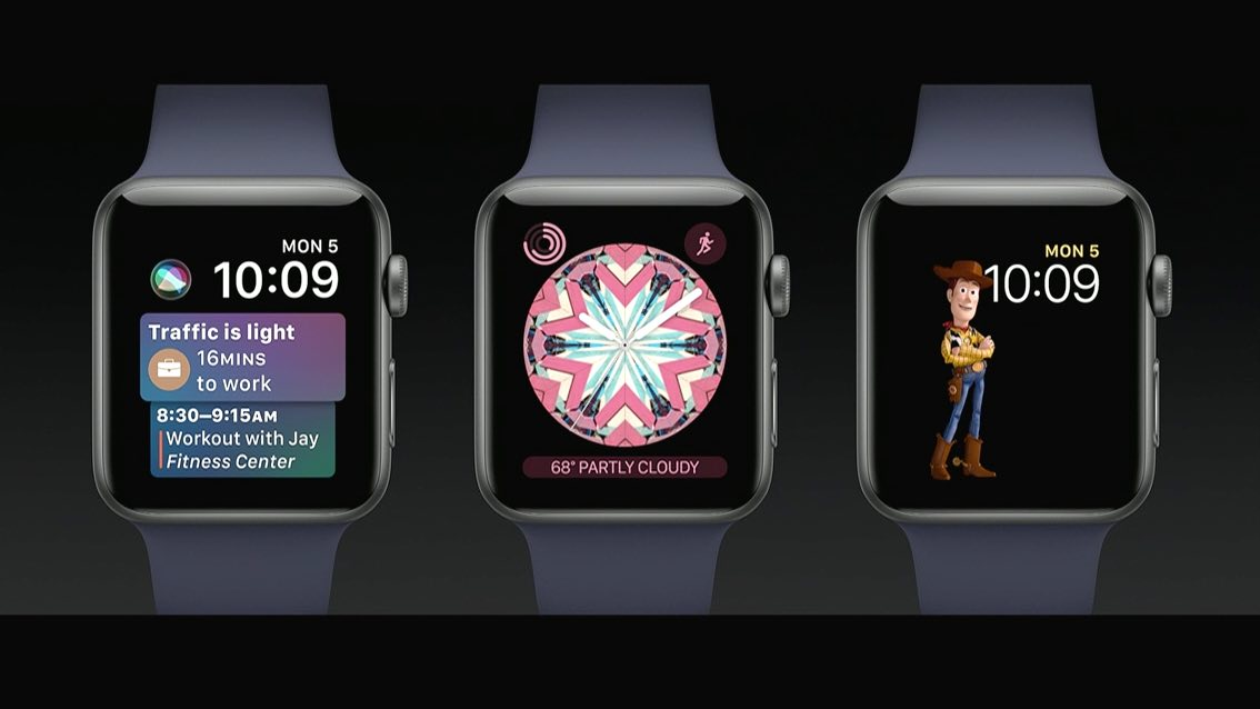 Apple introduces watchOS 4 and the new Siri watch interface Apple watch