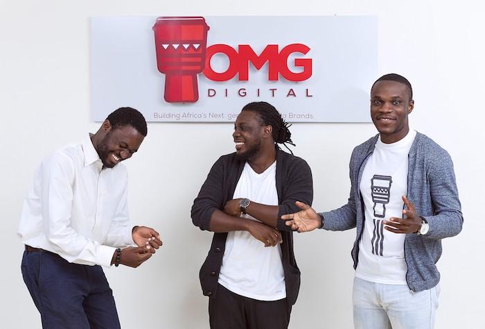 OMG Digital  Ghanaian Tech Startup OMG Digital Secures $1.1M Seed Funding OMG Digital Founders Dominic Mensah Prince Boakye Boampong Jesse Arhin Ghansah