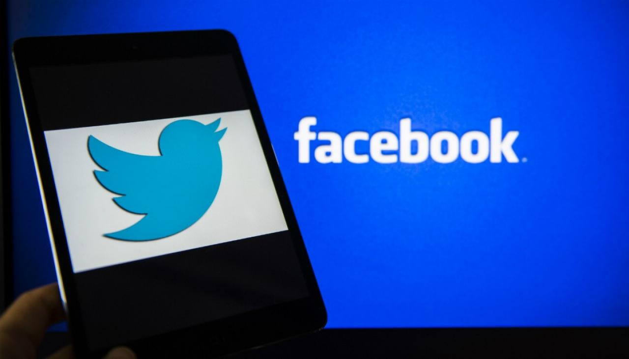 Twitter, Facebook Could Face Sanctions in the UK TwitterFacebook GETTY 291217 1120