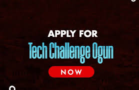 TECH CHALLENGE OGUN  Nigerian Students in Ogun State Tertiary Institutions can now Apply for Tech Challenge Ogun TECOGUN