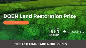 DOEN Land Restoration Prize